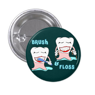 Ropa divertida de Prosthodontist Pin Redondo 2,5 Cm