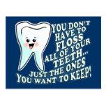 Ropa divertida de Prosthodontists Postales