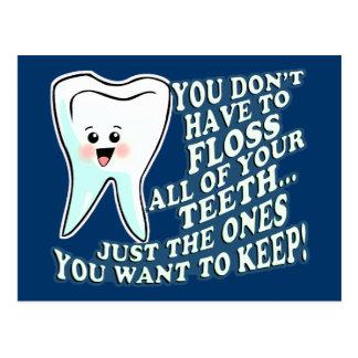 Ropa divertida de Prosthodontists Tarjeta Postal
