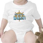 ropa divertida del bebé camiseta