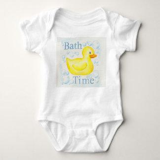 Ropa Ducky de goma del niño de Bathtime Playeras