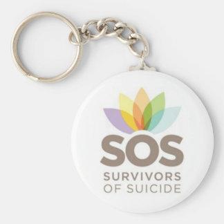 Ropa el SOS. Supervivientes del suicidio por el SP Llaveros