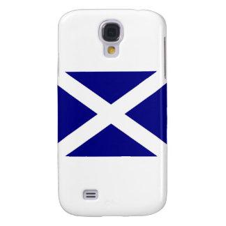 Ropa escocesa de la bandera carcasa para galaxy s4
