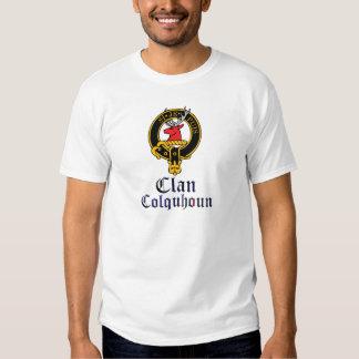 Ropa escocesa del nombre del clan del tartán del playeras
