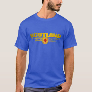 Ropa escocesa del orgullo playera