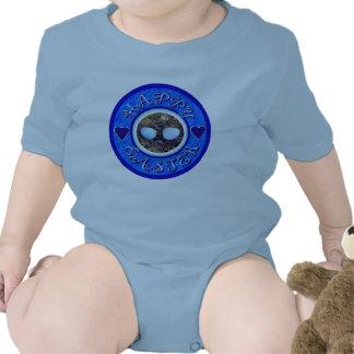 Ropa feliz del bebé de Pascua Trajes De Bebé