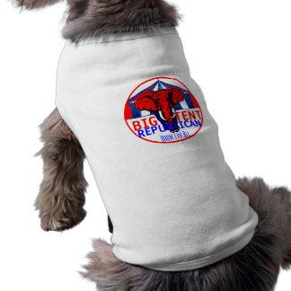 Ropa GRANDE del mascota de la TIENDA Playera Sin Mangas Para Perro
