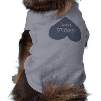 Ropa gris del custompet de la Anti-Tarjeta del día Camisa De Mascota