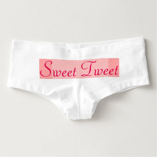 Ropa interior de Boyshorts de las mujeres dulces Calzones Para Mujer