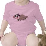 Ropa linda del bebé del tejón del dibujo animado trajes de bebé