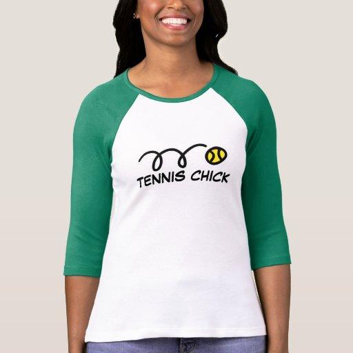 Ropa linda del tenis para las mujeres y los chicas camiseta