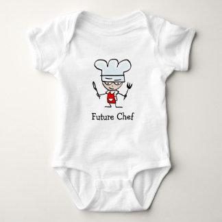 Ropa linda futura de la enredadera del bebé del remera