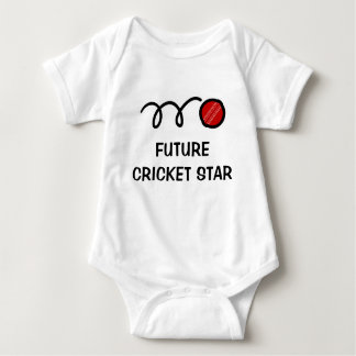 Ropa linda futura del bebé del jugador el | del body para bebé
