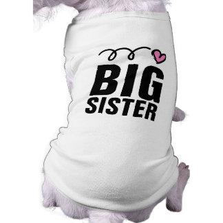 Ropa linda grande del mascota de la camisa el | playera sin mangas para perro