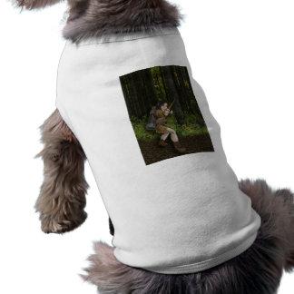 Ropa oscura del mascota del duende ropa para mascota