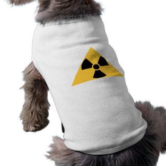 Ropa radiactiva del mascota del emblema camisetas de mascota