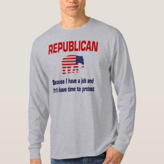 Ropa republicana divertida playera