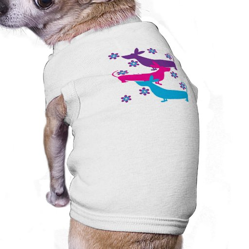 Ropa retra enrrollada del mascota del perro de caz playera sin mangas para perro