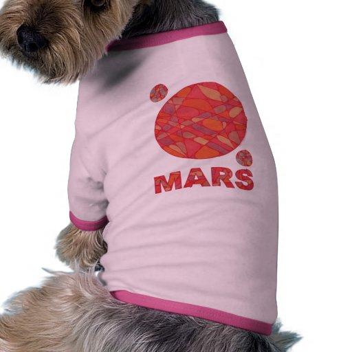 Ropa roja del suéter de la camisa del perro casero ropa de perros