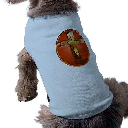 Ropa rústica del mascota de tres cruces ropa para mascota