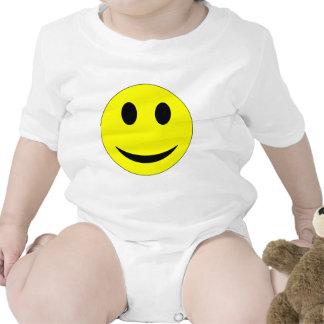 Ropa sonriente de la cara trajes de bebé