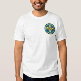 Ropa sueca del medallón camisas