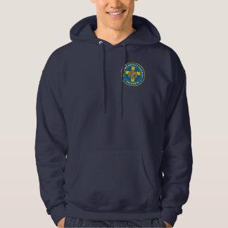 Ropa sueca del medallón sudadera