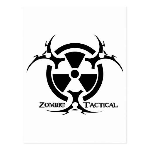 Ropa táctica del zombi postal