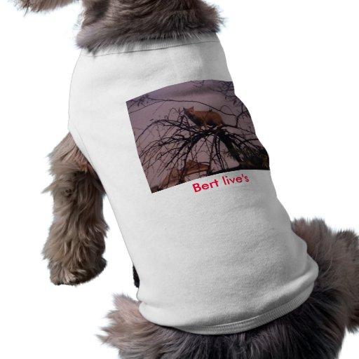 Ropa viva del mascota de Bert del bolsillo de Kens Playera Sin Mangas Para Perro