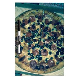 Ropa y artículos de la pizza del Grunge Pizarras Blancas