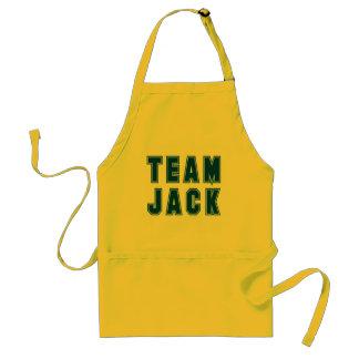 Ropa y regalos de JACK del EQUIPO Delantal