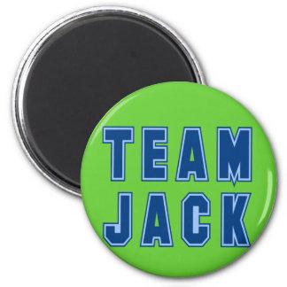 Ropa y regalos de JACK del EQUIPO Imán Redondo 5 Cm