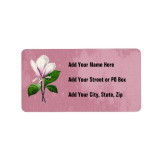 Ropa y regalos de la canción de la magnolia del etiqueta de dirección