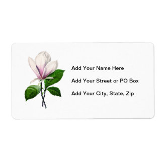 Ropa y regalos de la canción de la magnolia del etiquetas de envío