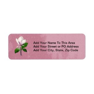 Ropa y regalos de la canción de la magnolia del etiquetas de remite