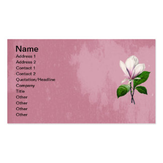 Ropa y regalos de la canción de la magnolia del tarjetas de visita