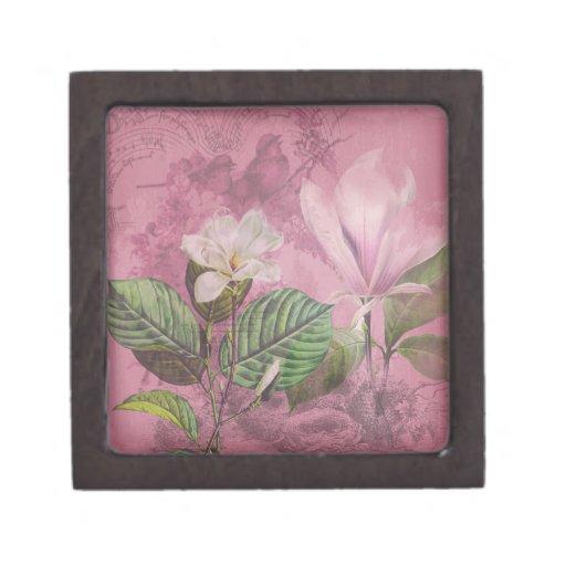 Ropa y regalos de la canción de la magnolia del vi caja de regalo de calidad