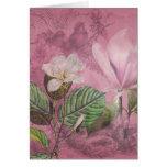 Ropa y regalos de la canción de la magnolia del vi tarjetas