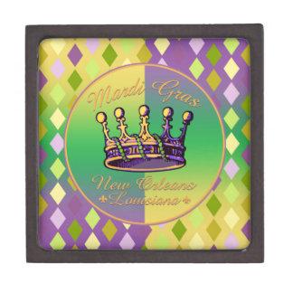Ropa y regalos de la corona del carnaval cajas de joyas de calidad
