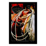 Rope and saddle posters