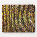 Rope Art Design Mouse Pad