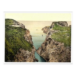 Rope Bridge. Carrick-a-Rede. Co. Antrim, Ireland r Postcard