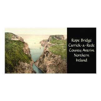 Rope Bridge, Carrick-a-Rede, County Antrim Card