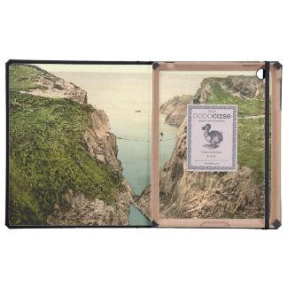 Rope Bridge Carrick-a-Rede County Antrim iPad Folio Cases