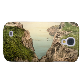 Rope Bridge, Carrick-a-Rede, County Antrim Galaxy S4 Cover