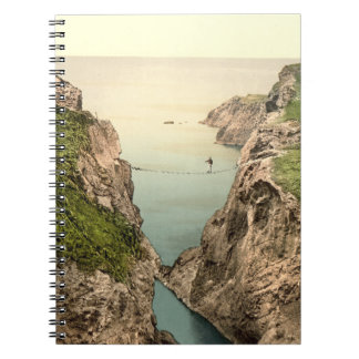 Rope Bridge, Carrick-a-Rede, County Antrim Notebook
