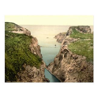 Rope Bridge, Carrick-a-Rede, County Antrim Postcard