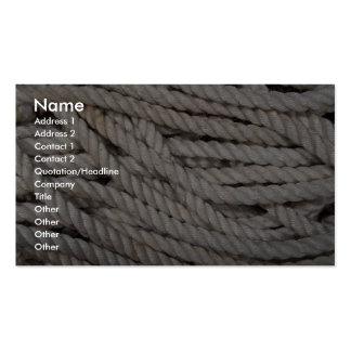Rope Double-Sided Standard Business Cards (Pack Of 100)