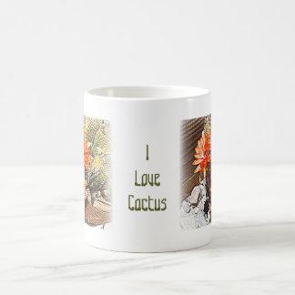 Rope Cactus Blooms Coffee Mug