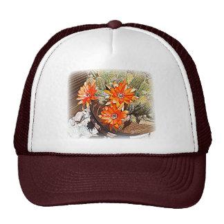 Rope Cactus Blooms Trucker Hat